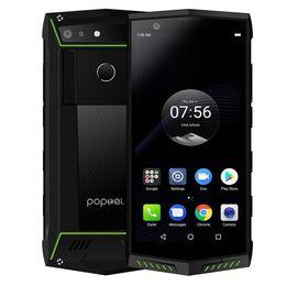 2019 coolpad handys POPTEL P60 4G Gesichts-ID IP68 wasserdichter Handy 5,7 Zoll 6GB 128GB 5000mAH Drahtlose Gebühr NFCAndroid 8.1 MTK6763 Smartphone