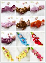 vídeo de toque real Desconto 10 polegadas Lifelike Baby Silkworm Renascer Bebê Vinil Silicone Macio Real Toque Boneca Lindo Bebê Recém-nascido Coelho roupas
