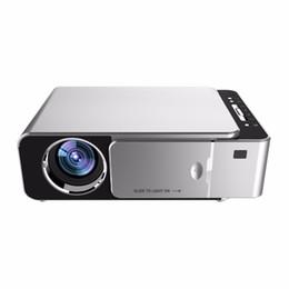 vga hdmi stecker Rabatt Top-HD-Multimedia-tragbarer LED-Projektor-Projektor Theater HDMI VGA AV USB SD Theater EU-Stecker