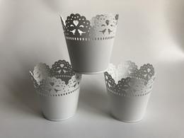 Argentina D10XH10CM Envío gratis blanco pequeño florero Mini florero para el florero de la boda para centros de decoración de la boda cheap small flowers vases Suministro