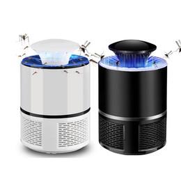Inseto mosquito eletrônico assassino on-line-Elétrica Mosquito Assassino lâmpada USB Eletrônica anti armadilha do mosquito LED Night Light Lamp Inseto inseto assassino Pest Repeller