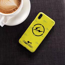 2019 mobile marken preis YunRT japanische Gezeitenmarke, die Pika Art und Weise weichen Handy-Kasten für iphone 6 6s 7 plus 8 plus X 10 XR XS MAX Abdeckung beleuchtet Preis: US $ 3.71 günstig mobile marken preis