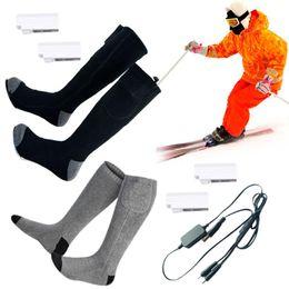 2019 bio-box großhandel 38-44 Männer Frauen USB elektrisch beheizte Socken Kit kalte Füße Winter Fußwärmer beheizte Einlegesohlen