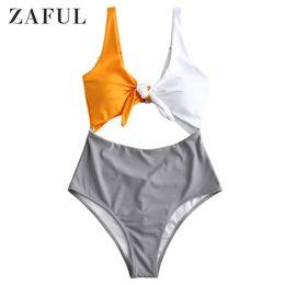 2019 große push-up-bikinis ZAFUL Patchwork Farbe Frauen Push Up Bikinis Set Bh Gepolsterte Brasilianische Bikini Big XXL Weibliche Badeanzüge Femme Biquini Beachwear günstig große push-up-bikinis