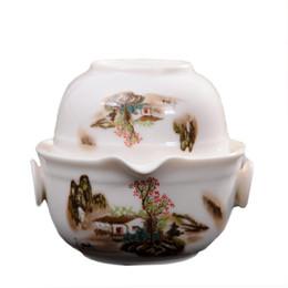 Alta qualidade conjunto de chá de viagem Incluir 1 Pote 1 Xícara, china bom produto Kung Fu Teaset, alta qualidade elegante gaiwan fácil chaleira bule de