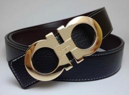 FERRAGAMO La mejor marca de diseño de moda para hombres y mujeres cinturón de hebilla automática para hombres y mujeres cinturón de cuero para hombres 105-125 cm envío gratis desde fabricantes