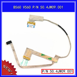 flex cable for laptop Coupons - New Original LCD LED Video Flex Cable For Lenovo B560 V560 P N 50.4JW09.001 Replacement Repair Laptop Screen Display Cable