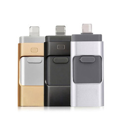 Canada Promotion de la vente I-FlashDrive Lecteur flash USB HD Pendrive Données de foudre pour téléphone Pad USB Interface Pen Drive pour PC 16 Go-128 Go supplier i phones sale Offre