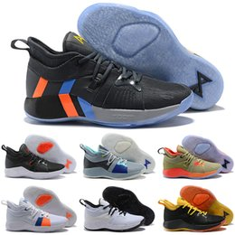 24be939068f0 Paul George 2 PG II mens basketball shoes Cheap top PG2 2S Starry Blue  Orange All White Black Sports Sneakers Size 40-46