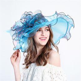 2019 chapeaux de mariage britanniques Chapeau formel de chapeaux de mariage pour les femmes britanniques chapeaux de mariage britanniques pas cher