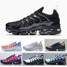 summer brand shoes Promo Codes - 2018 TN PLUS air run Summer trainer designer mens running shoes brand trainers air sneaker
