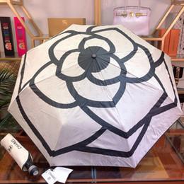 2019 blumen-stil regenschirm Empfindlicher winddichter Regenschirm mit Druck-Blumen-Mode-UVschutz-Regenschirm mit Kasten-elegantem Art-Taschenschirm günstig blumen-stil regenschirm