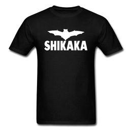 magliette nere fresche Sconti Maglietta Ace Ventura Shikaka Maglietta Captain Black Dark Knight Heroes Spriderman Maglietta cool da uomo