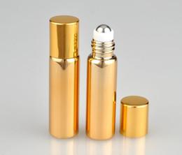 utilisation de bouteilles en verre Promotion Rouleau de verre sur la bouteille d'huile essentielle Bouteilles de parfum vides