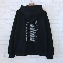 2019 impressão do hoodie da faixa Hot 18FW BLCG Velocidade Caçadores banda Impresso Hoodies Camisolas Moda Homens Mulheres Casal Sweatshits Top Quality World Food Programme HFLSWY261 desconto impressão do hoodie da faixa