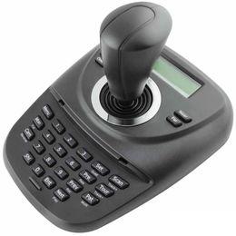 Controlador de domo online-Controlador de teclado Uvusee PTZ RS485 con Joystick 3D para CCTV Pan Tilt Zoom PTZ Speed Dome Camera Pelco-D P