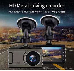 Ciclismo de china online-D710 HD 1080P del coche DVR de la cámara de la pantalla de 3,0 pulgadas automática del vehículo DVR 170 grados de ángulo ancho Dash Cam con grabación de ciclo