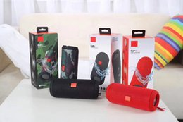 2019 pequeños altavoces bluetooth para iphone Venta al por mayor Altavoz inalámbrico Bluetooth Flip impermeable 4 Audio Flip4 Tarjeta Altavoces Mini Hifi Subwoofer al aire libre JBL Player con caja de paquete al por menor