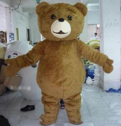 2019 tamanho adulto ursos de pelúcia 2019High qualidade Hot Teddy Bear Mascot Costume Fancy Dress transporte rápido tamanho adulto