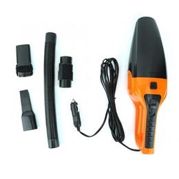 computadoras portátiles más pequeñas Rebajas 120W 3600mbar WetDry Vehicle Car Aspirador de mano Black Orange Portable