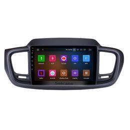 9 pulgadas Android 9.0 con pantalla táctil GPS Navi Estéreo del coche para 2015 2016 Kia Sorento con enlace de espejo Bluetooth USB WIFI compatible con DVD del coche Cámara trasera desde fabricantes