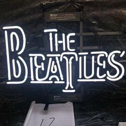 2019 enseigne au néon des beatles LES BEATLES Néon Signe Bar Vacances Affichage Publicité Décoration Décoration Murale Personnalisé Monté En Verre Léger En Métal Cadre 17 '' 20 '' 24 '' 30 '' enseigne au néon des beatles pas cher