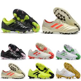 zapatos de fútbol de corte alto Rebajas 2019 top mens soccer shoes Copa 19.1 FG AG botines de fútbol copa mundial botas de fútbol al aire libre copa mundial chaussures de foot