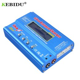 cargador imax b6 lipo balance Rebajas Kebidu Imax B6ac Rc B6 Ac Nimh Nicd Batería de litio Equilibrio Lipo Cargador de batería Balance descargador con pantalla LCD digital J190427