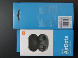 Écouteurs vidéo en Ligne-2019 Nouveaux Airdots Pro écouteurs sans fil Bluetooth avec Power Display 5.0 Casque TWS Casques Couleur Noir