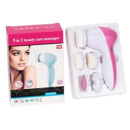 5 Em 1 máquina de lavar lavou o cepillo facial de limpieza para o instrumento hogar lavado arte cabeca limpiador de poros de Fornecedores de silicone de qualidade