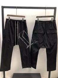 Ropa ligera de las mujeres online-Pantalones Harem Hombres Owen Seak 100% del tamaño de los hombres gótico de algodón de la ropa ligera de verano pantalón pantalones de las mujeres flojas Solid XL