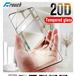 2021 displayschutz huawei y5 Brandnew 5p 20D Full Cover Ausgeglichenes Glas-Film für Huawei P20 Lite P30 Mate-20 Lite Phone Screen Protector Honor 8X 8A Y6 Y5 Nova 3e 4 Glass