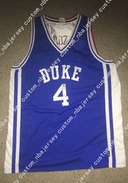 Cheap custom Duke Blue Devils Jersey Carlos Boozer Blue Team USA 2001 NWOT  Stitched Customize any number name MEN WOMEN YOUTH XS-5XL 8c182356b