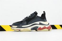 Argentina YDX Brand triple s scarpe speed trainer Zapatos para correr Moda Paris Lime Green hombres zapatos mujeres triple S Suministro