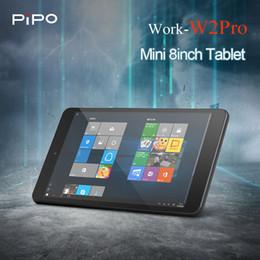 hd tabletas de cuatro núcleos Rebajas Tabletas Pipo W2PRO originales PC 8 '' Pantalla Full HD IPS Windows 10 Intel Cherry Trail Z8350 Quad Core 2GB + 32GB Tabletas de doble cámara