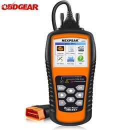 OBD2 Auto Car Scanner Diagnóstico NEXPEAK NX501 ODB2 Herramienta de Diagnóstico Lector de Código de Motor En Russian Portugues Automotive Scanner desde fabricantes