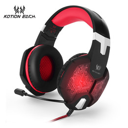 discount pc microphone wiring - microphone each g1000 stereo headbrand  wired microphone gaming headset pc gamer