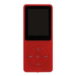 auriculares más delgados Rebajas Binmer USB Mini reproductor de música MP3 Pantalla LCD Soporte grabador de 4 GB Audifono digital del deporte delgado de grabación Moda