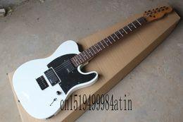 2019 gitarren telecaster Jim Root Telecaster Custom Black-Auswahl-Schutz Emg Tonabnehmer Hals E-Gitarre rabatt gitarren telecaster
