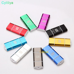 2019 lector de tarjetas de memoria mini multi one 2 en 1 USB macho a micro USB de doble ranura OTG Adaptador con lector de tarjetas de memoria TF para Android Smartphone Tablet Samsung