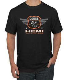 2019 dodge emblems Dodge Hemi Retro Logo 1914 Reboque Reparos Manutenção Emblema Carros Caminhões T-Shirt dodge emblems barato