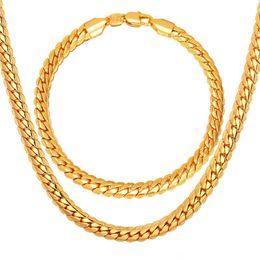 jóias banhados a ouro grossistas Desconto 5mm de Moda de Luxo 18 k Real Banhado A Ouro Colar de Corrente Dos Homens de Hip Hop Jóias Presentes Por Atacado Acessórios
