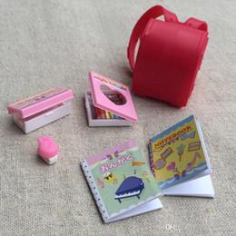 Argentina 1/6 de la muñeca del bolso de escuela de Licca muñeca Adecuado para Blyth Pullip OB Azona Momoko accesorios para muñecas Suministro
