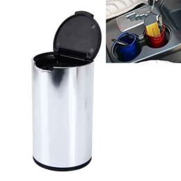 Deutschland Auto-Papierkorb Auto Abfalleimer beweglicher Träger Müll Kann Papierkorb Mülleimer Abfall-Staub-Bin für Auto-Aschenbecher Autozubehör Versorgung