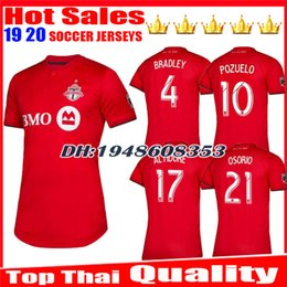89af0f566 New 2019 2020 Toronto FC Soccer Jersey BRADLEY GIOVINCO ALTIDORE OSORIO 19  20 Toronto Home Red Customize Football Shirt jerseys Uniform toronto soccer  ...
