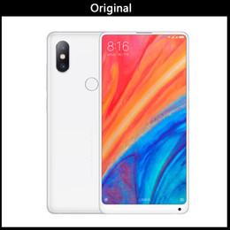 """Глобальная версия Xiaomi Ми 2С микс львиный зев 845 5.99"""" емкостный полный экран Окта Core мобильный телефон 6 ГБ 64 ГБ NFC и 4G по СЗД Mix2S от"""