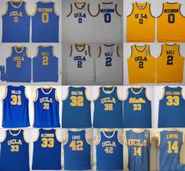 2019 jersey de ucla 2019 UCLA Bruins Jersey College Baloncesto Russell Westbrook Lonzo Ball Zach LaVine Kareem HOMBRES Jabbar Reggie Miller Bill Walton Kevin Love jersey de ucla baratos
