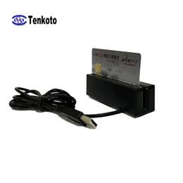 magnetkartenleser Rabatt Universeller Zwei-Wege-Swipe-VIP-Kartenleser für hohe und niedrige Co-Drei-Wege-MSR-Streifen-USB-Magnetkarten