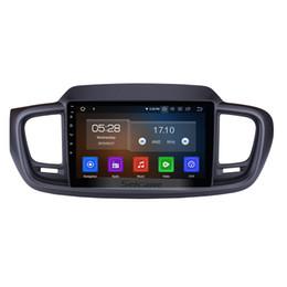 Argentina 9 pulgadas Android 9.0 Radio para Coche para 2015 2016 Kia Sorento con Bluetooth GPS navegación Espejo enlace apoyo OBD2 DVR cámara de visión trasera DVD del coche Suministro