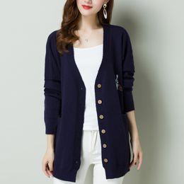 korean girl blue sweater Promo Codes - Harajuku Loose coat sweater Knit  Kawaii rabbit Cardigan Jackets f0694ab47